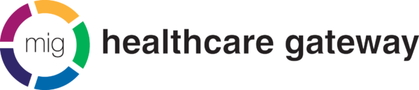 Healthcare Gateway and the MIG logo